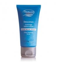 Скраб для глубокой очистки кожи мужской кожи лица DESCOMEN DEEP-CLEANSING SCRUB